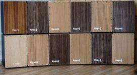 Nên chọn trống Cajon làm bằng gỗ tự nhiên hay gỗ ép
